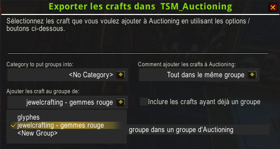 Guide sur TradeSkillMaster • T'as Pas 1 Po ?
