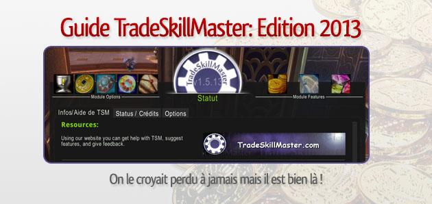 Guide sur TradeSkillMaster • T'as Pas 1 Po ?