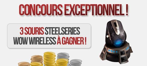 Afficher le sujet - Concours: Gagnez 3 souris Steelseries WoW Wireless