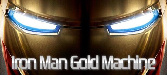 iron man gold machine